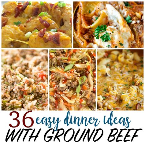 cheap recipes 36 things to make with ground beef