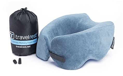 most comfortable travel pillow free shipping travelrest ultimate memory foam travel