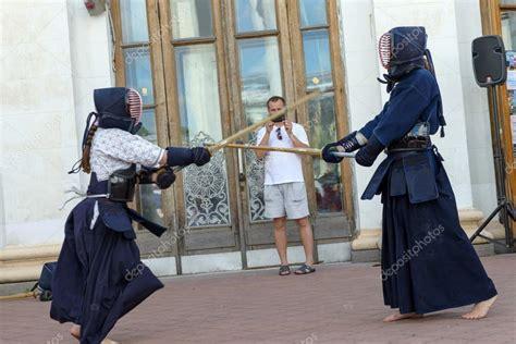 japanese fighting japanese sword fighting stock editorial photo 169 aviavlad3 51889591