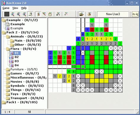 solving color nonograms kosjcross kosjcross is the game allows you solve a japan