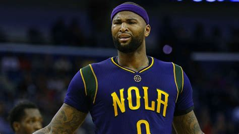 demarcus cousins demarcus cousins picks up first technical with pelicans