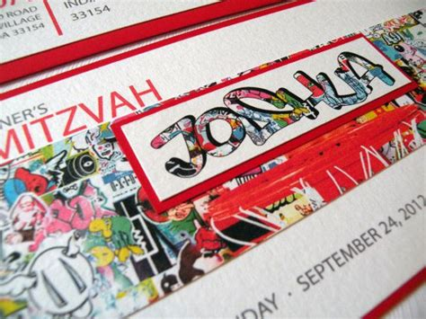 Graffiti Does Invitations by 111 Best Images About Bbq Bar Mitzvah On Sweet