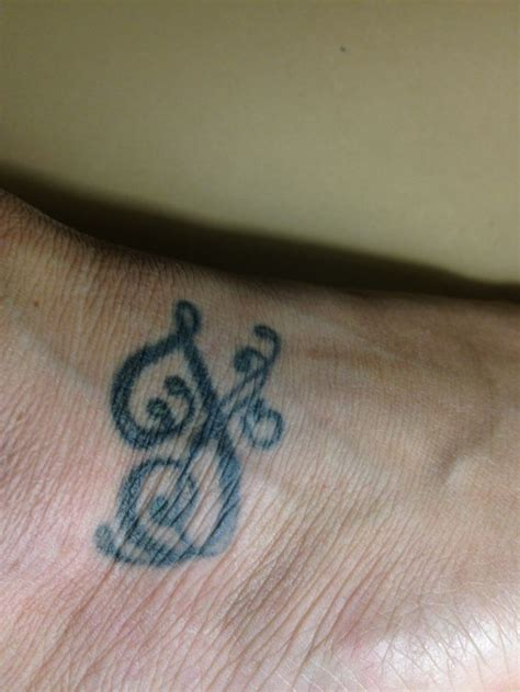 j letter tattoo design my foot the letter j and the day my was born