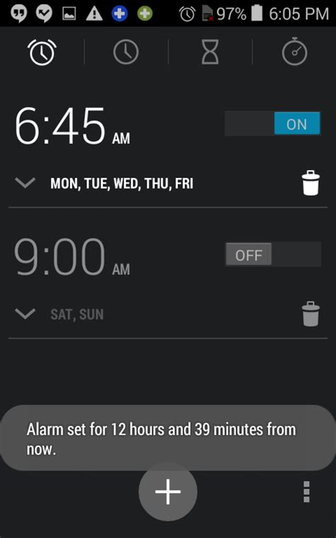 how to set alarm on android set alarm on android 28 images set your android alarm 4 easy steps wikihow 6th sense alarm