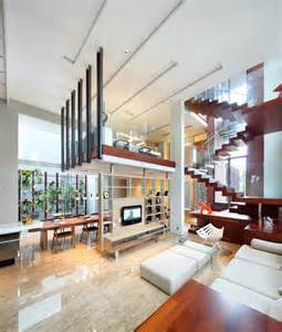 beautiful house design inside and outside indonesia luxury homes living large on a small site