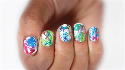 play painting nails free 最新手绘指甲图片大全 美甲图片 屈阿零可爱屋