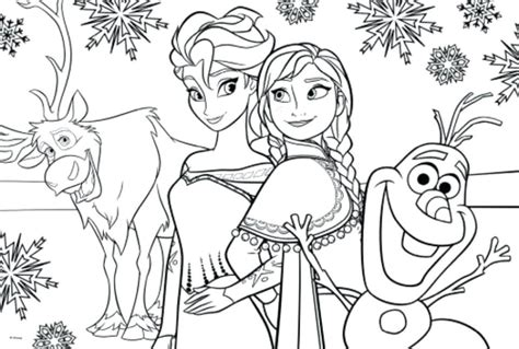 color image online disney frozen coloring page preschool for cure draw image
