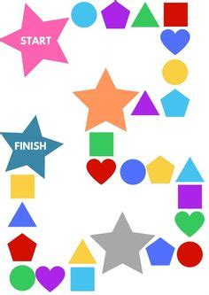 pattern shapes online games roll a shape printable game for preschool printable math
