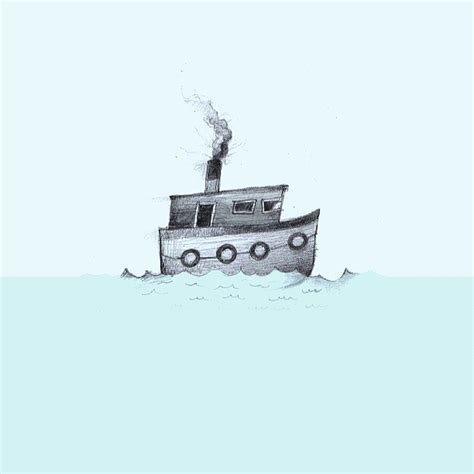 tugboat drawing tugboat plastictoyplanet illustrationsplastictoyplanet