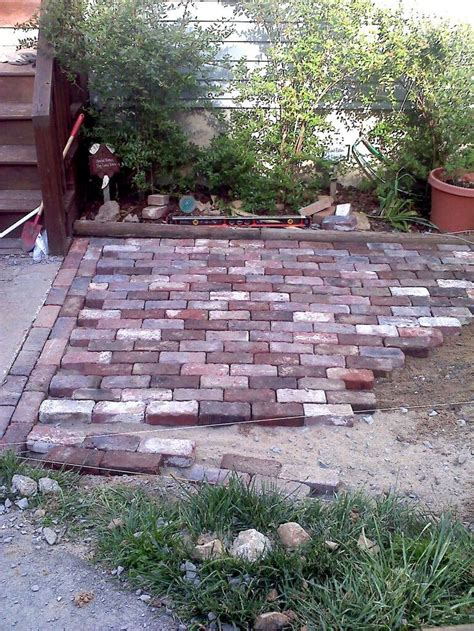 backyard sted concrete patio ideas best 25 laying pavers ideas on pinterest laying a patio