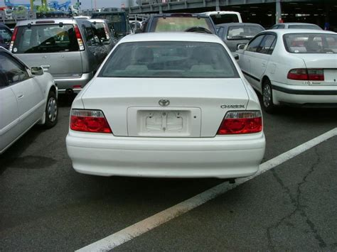 Toyota Chaser 2000 2000 Toyota Chaser Pictures 1800cc Gasoline Fr Or Rr