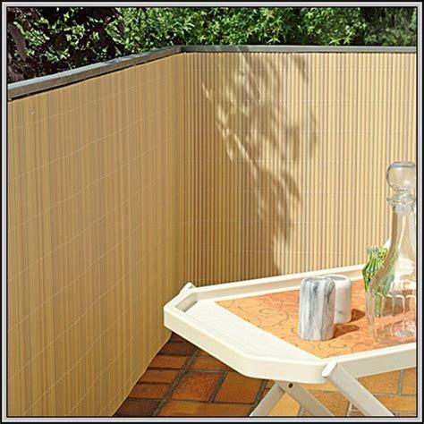 Bambus Balkon Sichtschutz by Balkon Sichtschutz Bambus Kunststoff Balkon House Und