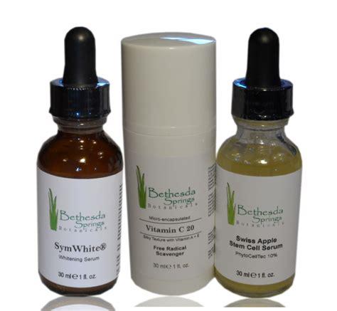 Serum Whitening Vit C vitamin c serum 20 swiss apple stem cell symwhite whitening serum bethesda springs