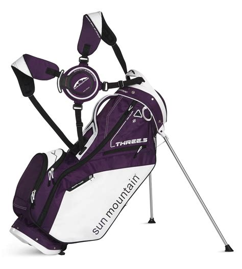 Ananndapers Standing Bag Purple sun mountain 2015 three 5 s golf stand carry bag