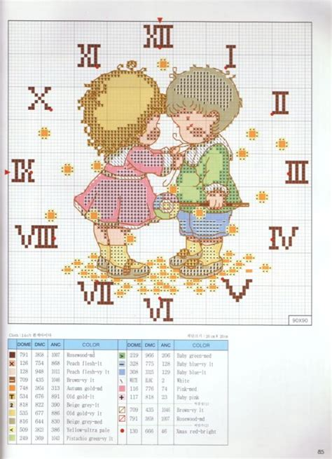 Stitch And Craft 2007 by 85 Best Images About Cross Stitch Clocks On