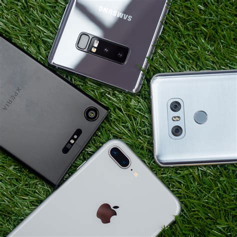 best smartphone cameras compared iphone 8 plus vs galaxy note 8 lg g6 xperia xz1