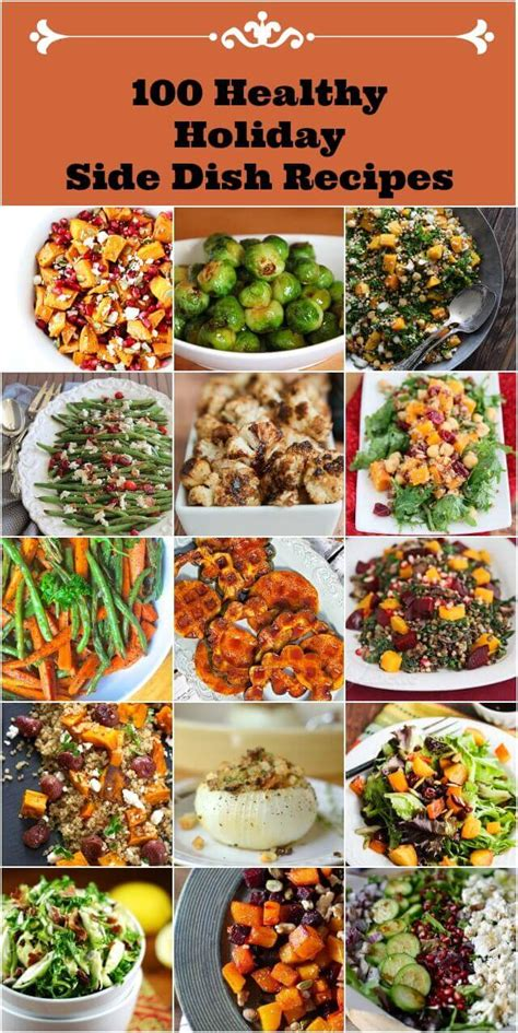 100 healthy holiday side dish recipes jeanette s healthy