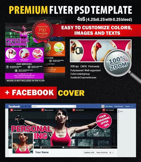 Personal Training Psd Flyer Template 8298 Styleflyers Personal Flyer Template