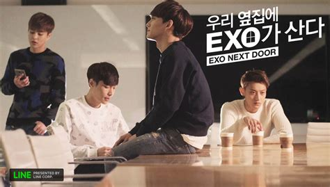 vidio film exo next door exo s web drama exo next door to be produced into movie