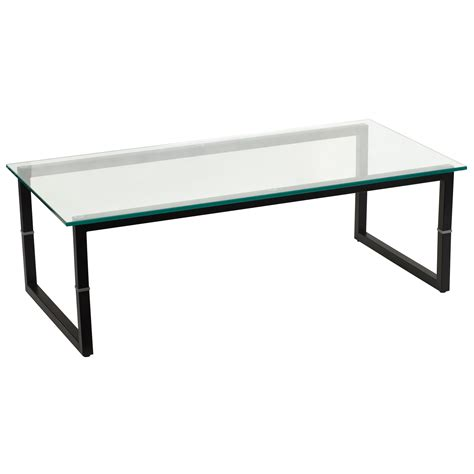 Glass Coffee Table Flash Glass Coffee Table By Oj Commerce Fd Coffee Tbl Gg 73 04