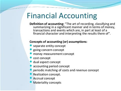 Mba Accounting Definition by About Accounting Venkat Reddy
