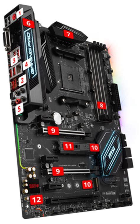 Murah Ori Msi X370 Gaming Pro Socket Am4 Ddr4 msi x370 gaming pro carbon am4 amd x370 rgb sata 6gb s usb 3 1 atx motherboard ebay