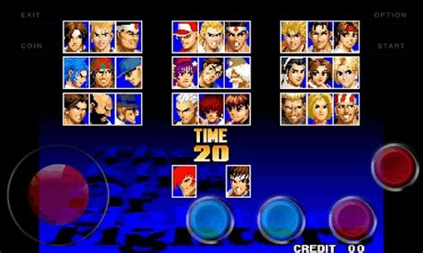 king of fighters apk android hd hvga qvga wvga the king of fighters 97 apk
