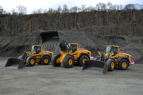 largest volvo   tillicoultry quarries cea construction equipment association