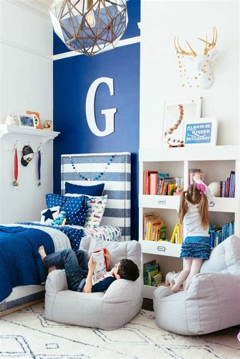 project nursery shared brother  sister bedroom