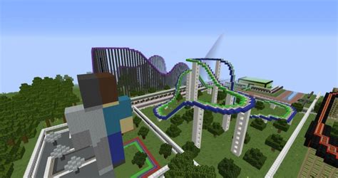 theme park names minecraft minepark a minecraft theme park for clicki minecraft