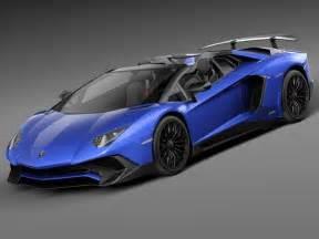 2016 Lamborghini Price Lamborghini Aventador Lp750 4 Sv Roadster 2016 3d Model