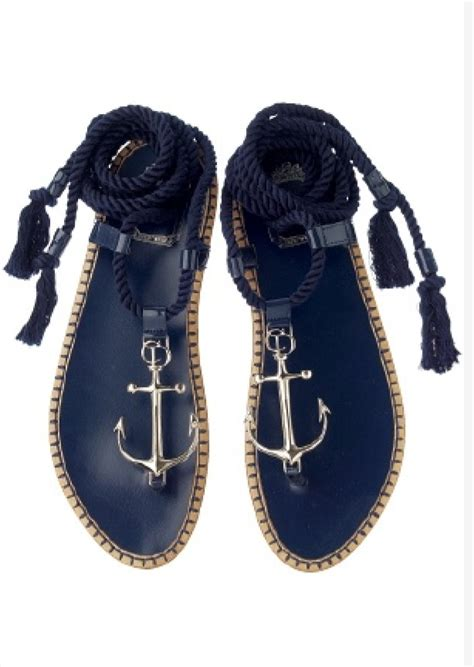anchor sandals anchor sandals my style anchor