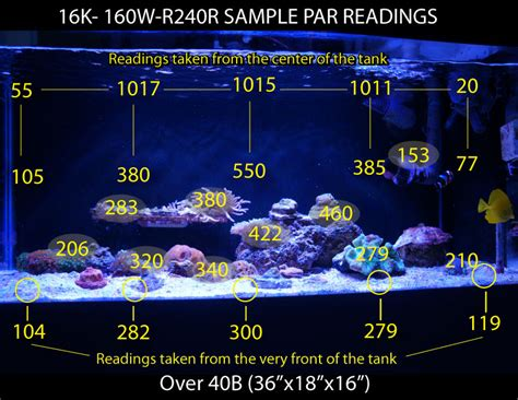 Led Aquarium P800 sle par reading of razor 160w photo by coralvue