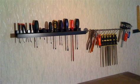ikea tool storag 29 ideas to use ikea ribba ledges around the house digsdigs