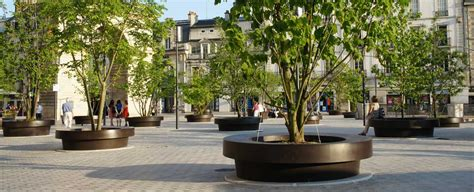 large tree planters streetlife