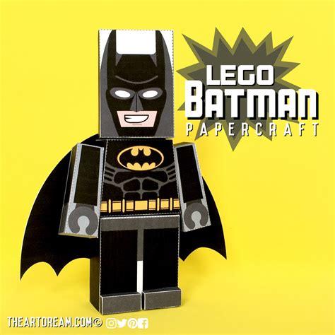 Batman Papercraft - lego batman craft
