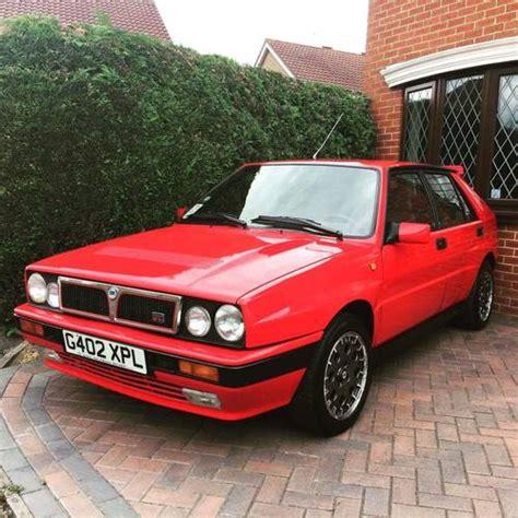 Lancia Delta Integrale For Sale Uk Lancia Delta Integrale 2 0litre 16v Turbo For Sale 1989