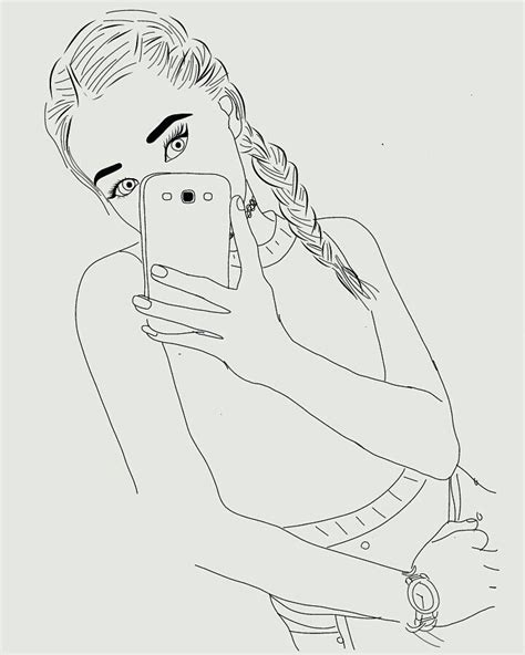 84 Best Images About Tumblr Outlines On Pinterest Outline Pictures For Drawing