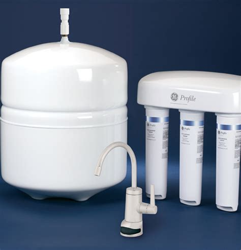 Ge Reverse Osmosis Water Filtration System With Design Faucet