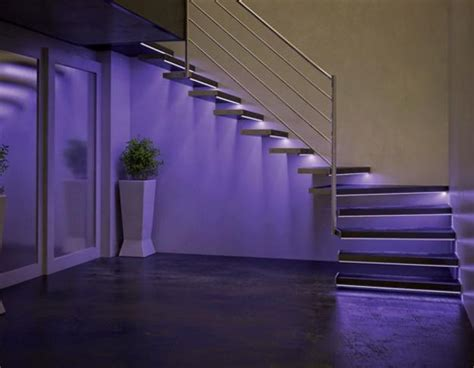 modern home interior with colorful led lighting modern interior design ideas to brighten up rooms with led