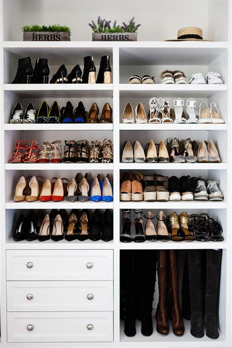 walk in closet shoe storage 40 creative ways to organize your shoes