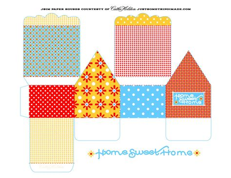 printable paper house template best photos of paper house patterns templates