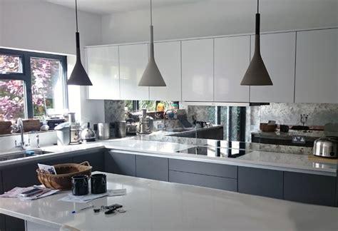 contemporary glass splashback kitchen kitchens kitchen kitchens modern kitchen west midlands by