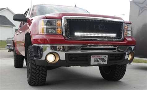 30 inch black label lighting led light bar and behind the