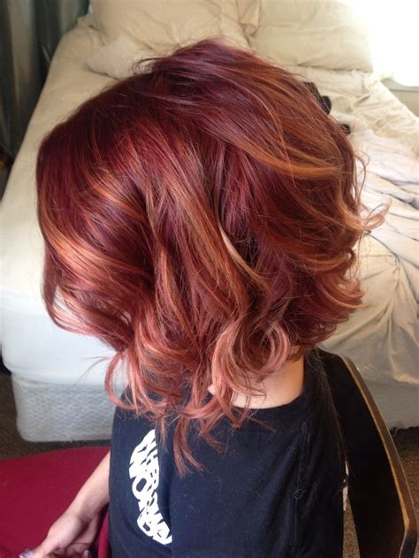 short hair with chunky colors 12 stylish red bobs to try for the new season pretty designs