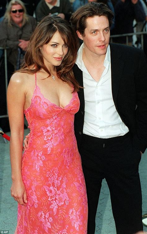 Why Ex Hugh Grant Didnt Show For Lizs Wedding by Shane Warne Admits Liz Hurley S Friendship With Hugh Grant
