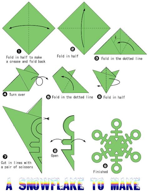 How To Make A 6 Pointed Paper Snowflake - 17 best images about paper snowflakes on snow