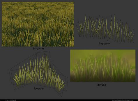 zbrush grass tutorial thanks working in udk on the rocks and stairs 3d