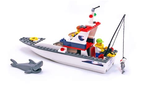 lego city fishing boat speed build fishing boat lego set 4642 1 building sets gt city