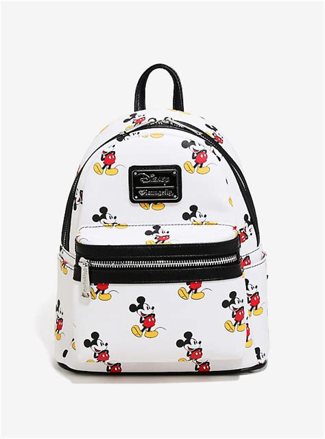 print mini backpack disney mickey mouse allover print mini backpack boxlunch